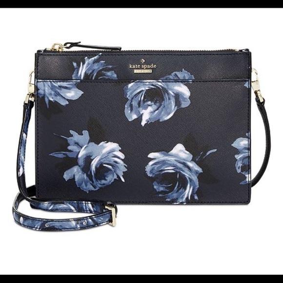 d5c6c0134d kate spade Handbags - Kate spade night rose Crossbody NWOT